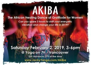 Mbombo ~ African Healing Rhythms Series for Women this Winter